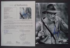 Harrison Ford Indiana Jones Movie Signed Autographed 8x10 Photo Jsa Loa #z09526