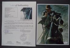 Harrison Ford Indiana Jones Movie Signed Autographed 8x10 Photo Jsa Loa #z09527