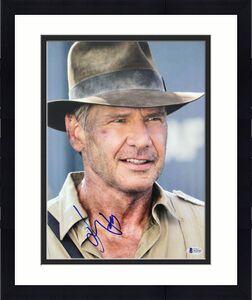 Harrison Ford Indiana Jones Signed 11x14 Photo Autographed BAS #A12143