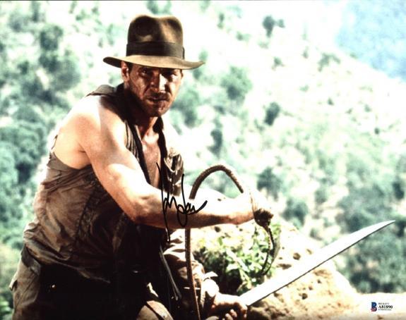 Harrison Ford Indiana Jones Signed 11X14 Photo Autographed BAS #A81890