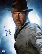 Harrison Ford Indiana Jones Signed 11X14 Photo PSA/DNA #H86093