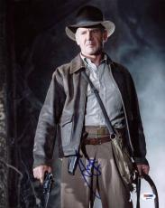 Harrison Ford Indiana Jones Signed 11X14 Photo PSA/DNA #Q45272