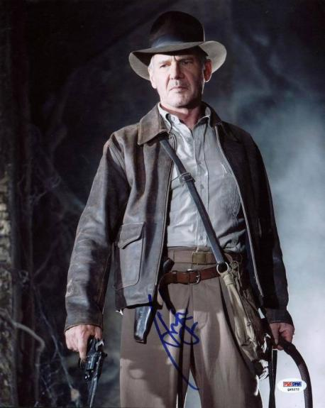 Harrison Ford Indiana Jones Signed 11X14 Photo PSA/DNA #Q45272