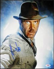 Harrison Ford Indiana Jones Signed 11X14 Photo PSA/DNA #S14613
