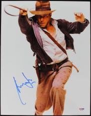 Harrison Ford Indiana Jones Signed 11X14 Photo PSA/DNA #S67283