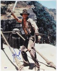 Harrison Ford Indiana Jones Signed 11X14 Photo PSA/DNA #T03819