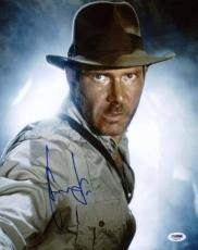 Harrison Ford Indiana Jones Signed 11X14 Photo PSA/DNA #T08079