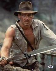 Harrison Ford Indiana Jones Signed 11X14 Photo PSA/DNA #T08518