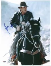 Harrison Ford Indiana Jones Signed 11X14 Photo PSA/DNA #U01331