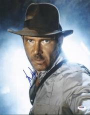 Harrison Ford Indiana Jones Signed 11X14 Photo PSA/DNA #U01332