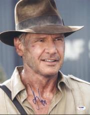 Harrison Ford Indiana Jones Signed 11X14 Photo PSA/DNA #U01333