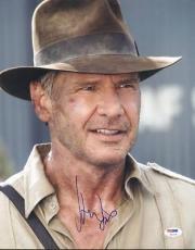 Harrison Ford Indiana Jones Signed 11X14 Photo PSA/DNA #U01334