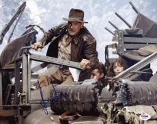 Harrison Ford Indiana Jones Signed 11X14 Photo PSA/DNA #U03467
