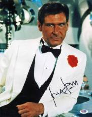 Harrison Ford Indiana Jones Signed 11x14 Photo Psa/dna #u03468