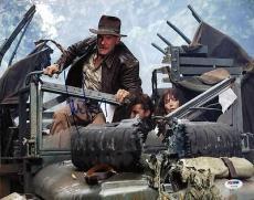Harrison Ford Indiana Jones Signed 11X14 Photo PSA/DNA #V10304