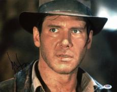 Harrison Ford Indiana Jones Signed 11X14 Photo PSA/DNA #V10714