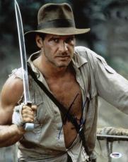 Harrison Ford Indiana Jones Signed 11X14 Photo PSA/DNA #W00444