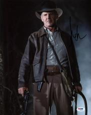 Harrison Ford Indiana Jones Signed 11x14 Photo Psa/dna #w00894