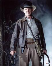 Harrison Ford Indiana Jones Signed 11X14 Photo PSA/DNA #W00898