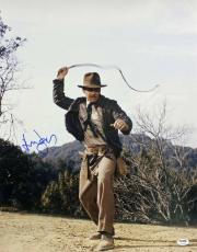 Harrison Ford Indiana Jones Signed 16X20 Photo PSA/DNA #V10703