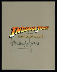 Harrison Ford Indiana Jones Signed 8.5x11 1984 Original Premier Program BAS
