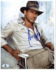 Harrison Ford Indiana Jones Signed 8X10 Photo Autographed BAS #A02033
