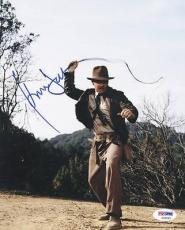 Harrison Ford Indiana Jones Signed 8X10 Photo Graded Gem Mint 10! PSA #S06980