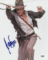 Harrison Ford Indiana Jones Signed 8X10 Photo PSA/DNA #T08855