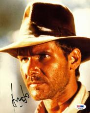 Harrison Ford Indiana Jones Signed 8X10 Photo PSA/DNA #T08856