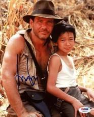 Harrison Ford Indiana Jones Signed 8X10 Photo PSA/DNA #U59374