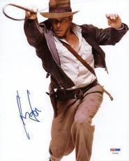 Harrison Ford Indiana Jones Signed 8x10 Photo Psa/dna #v09651