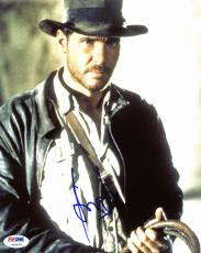 Harrison Ford Indiana Jones Signed 8x10 Photo Psa/dna #v09679