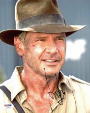 Harrison Ford Indiana Jones Signed 8x10 Photo Psa/dna #v09680