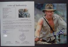 Harrison Ford Indiana Jones Signed Autograph 8x10 Photo Rare Jsa Loa #z25842