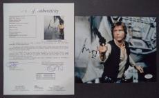 Harrison Ford Indiana Jones Signed Autographed 8x10 Photo Rare Jsa Loa #z09644