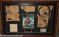 Harrison Ford INDIANA JONES signed autographed photo display WHIP PSA DNA COA