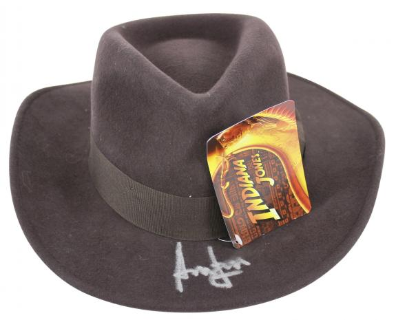 Harrison Ford Indiana Jones Signed Hat Autographed BAS #A08764