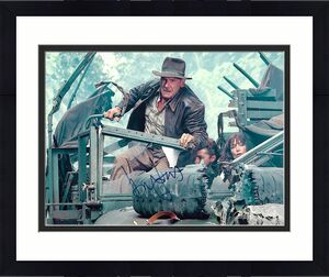 Harrison Ford Indiana Jones Star Wars Signed 8x10 Auto Photo DG COA (C)