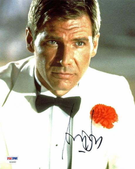 Harrison Ford Indiana Jones & The Temple Of Doom Signed 8x10 Photo PSA #V09682