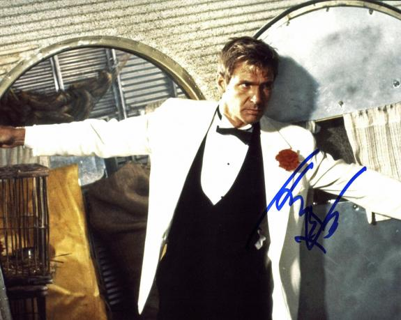 Harrison Ford Indiana Jones & The Temple Of Doom Signed 8x10 Photo PSA #Y07963