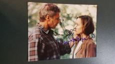 Harrison Ford & Kristin Scott Thomas autographed Photograph - coa