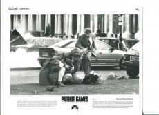 Harrison Ford Anne Archer Thora Birch Patroit Games Press Still Movie Photo