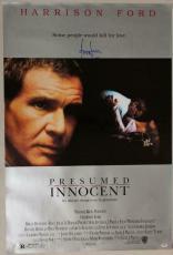 harrison ford presumed innocent signed 27x40 poster psadna i81903 - Presumed Innocent