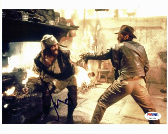 Harrison Ford Raiders of the Lost Ark Signed 8x10 Photo PSA #U01273