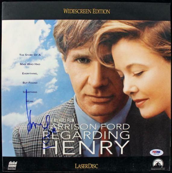 Harrison Ford Regarding Henry Signed Laserdisc Cover PSA/DNA #J00720