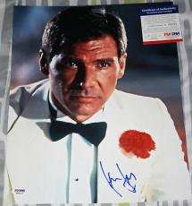 Harrison Ford signed 11 x 14, Indiana Jones, Star Wars, Fugative, PSA/DNA