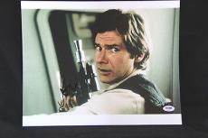 Harrison Ford signed 11x14 autographed photo Star Wars Han Solo PSA/DNA