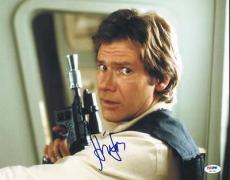Harrison Ford Signed 11x14 Photo Auto Graded Perfect 10! Psa #u01356