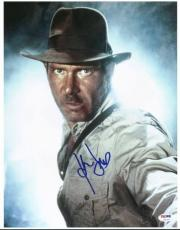 Harrison Ford Signed 11X14 Photo Auto Graded Perfect 10! PSA #U01357