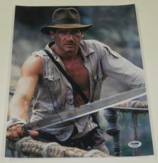 Harrison Ford Signed 11x14 Photo Autograph Indiana Jones Star Wars Proof Psa A